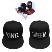 EQLEF® Baseball Cap For Lovers Couple QUEEN And KING